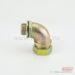 铁镀锌金属接头包塑管90°软管接头螺纹式连接16-51mm公