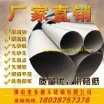 供应304流体工业焊管159x3.5mm不锈钢工业管304压