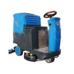 库房清扫驾驶式洗地技,依晨充电式洗地机YZJS1000