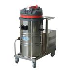 假草坪保洁手推式吸尘器,依晨电瓶式工业吸尘器YZ-1580