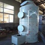 河北PP板材质填料塔5000风量喷淋塔
