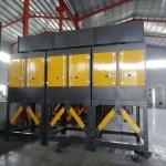 汾阳印刷电镀厂烟雾漆味吸附燃烧设备RCO蓄热式催化机