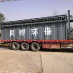 同幫MC800袋式除塵器廠家800袋在線除塵器制作現場