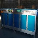 咸宁不锈钢光氧分解设备二万风量光氧净化器打包发货