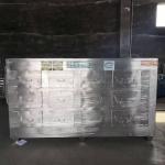高郵市同幫不銹鋼圓風口活性炭吸附箱12個抽屜顆粒碳箱