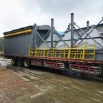 450袋单室喷吹除尘器制作流程2.2万风量脉冲除尘器