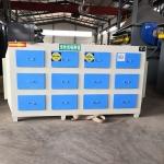 衢州柯城塑料玩具廠廢氣吸附過濾箱立式碳箱