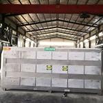 洛陽食品廠不銹鋼活性炭吸附箱18個抽屜干式過濾箱
