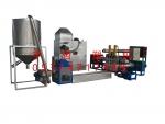 供应210型三阶造纸厂废旧塑料造粒机
