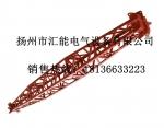 供应铝合金管式人字抱杆 铝合金格构式人字抱杆