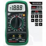 成都供應正品華儀儀表 MAS830L數字多用表 數字鉗形表批