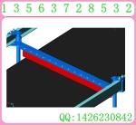 空段可逆聚氨酯清扫器 可逆聚氨酯清扫器