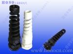 防折彎尼龍電纜防水接頭,防彎折格蘭頭,連體耐扭式塑料填料函