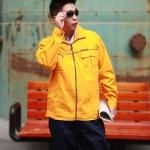 秋冬季长袖工作服套装男劳保服电焊工作服 男工装汽修工作服套装