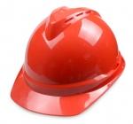 成都高强度ABS V型透气安全帽 工地工程安全工作帽 免费印
