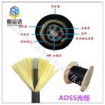 12芯电力光缆ADSS光缆 全介质自承式架空电力光缆ADSS
