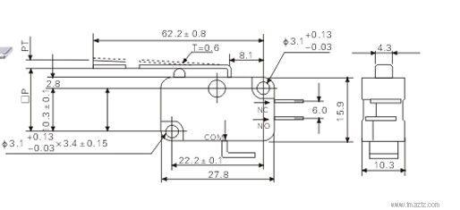 成都总代理v-153-1c25微动开关 微动开关哪