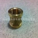 4分15铜内丝管头热水器专用接头 成都市场供货 价格便宜