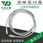 六类非屏蔽网络跳线 路由器宽带网线成品网线 米数可定 厂家直