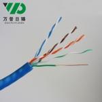 厂家批发六类非屏蔽网线无氧铜室内千兆国标网线宽带线电脑监控线