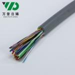 HYV50*2*0.5大对数电缆室内通讯线缆双绞电话电缆 工