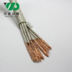 SYV75-2-2*8双层铜网编织屏蔽多芯视频监控线8芯射频