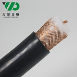 SYV75-17-1铜芯射频同轴电缆视频线75欧姆铜网编织S