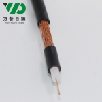 监控视频线SYV75-3-2 64编铜网编织视频线75Ω同轴
