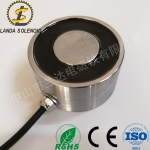 自动化电磁铁H9050圆形吸盘式电磁铁兰达厂家直销
