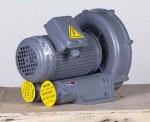 燃烧机用2.2KW全风高压鼓风机,大风压低噪音风机