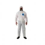 白色連體防化服