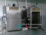 四车烟熏炉价格,1000公斤烟熏炉电脑控制一键设定