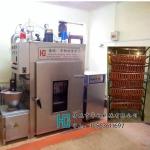 哈尔滨红肠用烟熏机,蒸熏红肠设备,节能烟熏箱