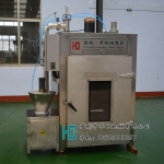 豆腐干烟熏设备/华钢牌豆干烟熏箱/100熏豆干机器