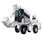 4方混凝土自动上料车自上料混凝土搅拌车厂家