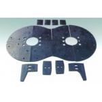 成都批發直銷 方圓JS500-JS750型襯板葉片