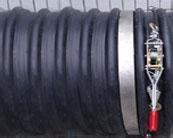 新疆峰浩牌HDPE聚乙烯鋼帶纏繞波紋排水管