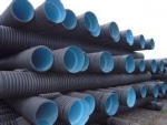 新疆联塑牌聚乙烯PE双壁波纹排水管