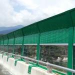 四川高速公路声屏障隔音网厂家公路两侧隔音屏施工