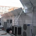 四川資陽空調外機聲屏障隔音屏廠區冷卻塔降噪聲屏障