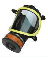 丽江防有毒有害气体全面罩防毒面罩 过滤式硅胶防毒面具
