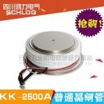 四川可控硅 普通晶闸管KK2500A/2500V(厚:26)