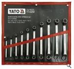 10件套-工业级双头高颈梅花扳手组套