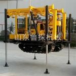 山东鲁探高端产品液压履带式钻机 130型百米地勘钻机 水钻