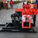 130型柴油机液压水井钻机 农村打井赚钱岩石打水井钻机