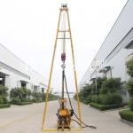 200米水井钻机价格在线咨询 液压水钻机柴油机动力打深井用