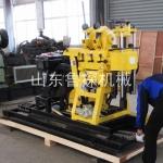 200型柴油液压打井机操作全自动 带移机功能 小型钻井机