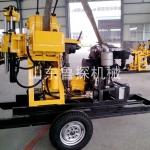 轮式快速钻井设备XYX-200小型液压钻井机 石头土都能打