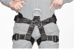 救援坐式半身安全带,消防一类安全吊带GA494-2004