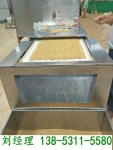 蕎麥苦蕎烘烤烘熟設備,微波蕎麥烘焙熟化隧道爐
